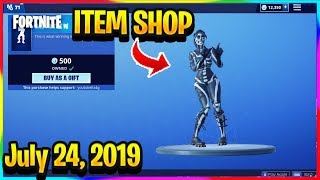 FORTNITE ITEM SHOP *NEW* LACE SKIN SET AND SAVOR THE W EMOTE RETURNS! | ITEM SHOP (July 24, 2019)
