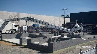 Robot Brick Layer | 9 News Perth