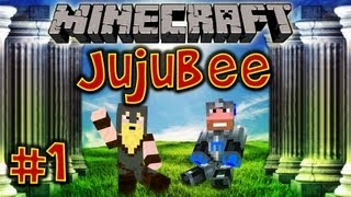 ★ Minecraft Survival Islands: JUJUBEE ★ Ep.1, Dumb and Dumber
