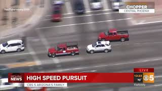 43 mins and 35 seconds of Phoenix Police Chase     (EPIC)