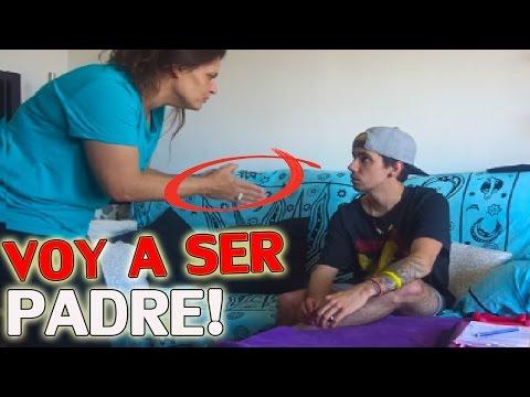 BROMA A MI MADRE QUE VOY A SER PADRE! (SE ENFADA!)