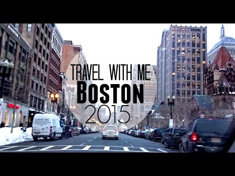 TRAVEL WITH ME: BOSTON VLOG | Winter Trip