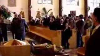 Religious Statue Falls And Breaks In Church