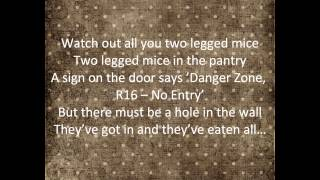 Two Legged Mice Song with Lyrics
