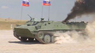 Russian Military Trucks Military Aircraft & Helicopters participate in competition