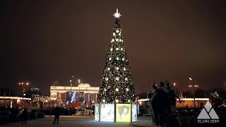 Городская Ель. Ёлкин Дом | Christmas tree of City. Elkin Dom