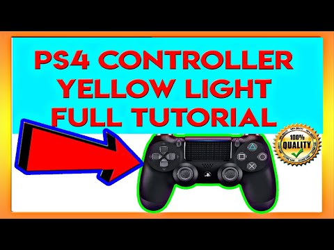 How To Fix PS4 Controller With Yellow Flashing Light (2019) *FULL METHOD*