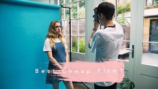 One of NegativeFeedback's most viewed videos: The Best Cheap 35mm Film Comparison