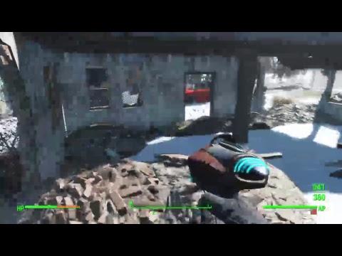 Fallout 4 Snow Survival Pt 1