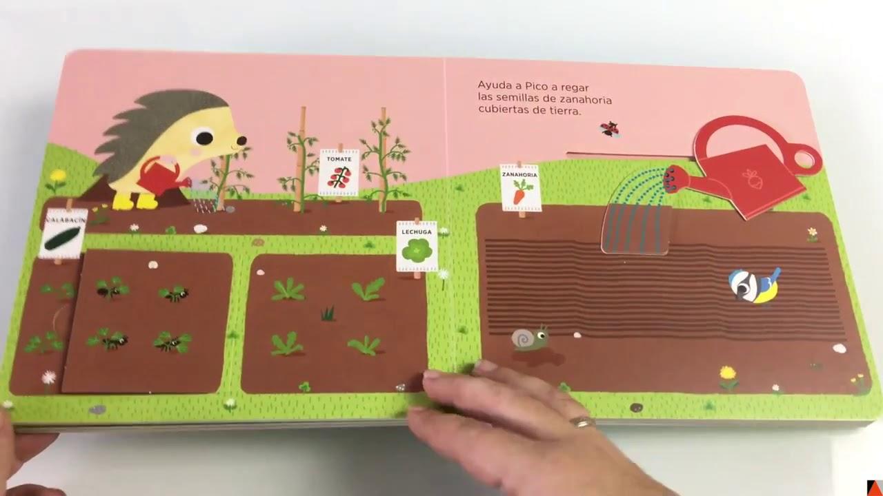 El Huerto De Pico El Erizo Un Libro Infantil Para Conocer Un Huerto Youtube