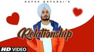 Relationship Hapee Boparai Free MP3 Song Download 320 Kbps