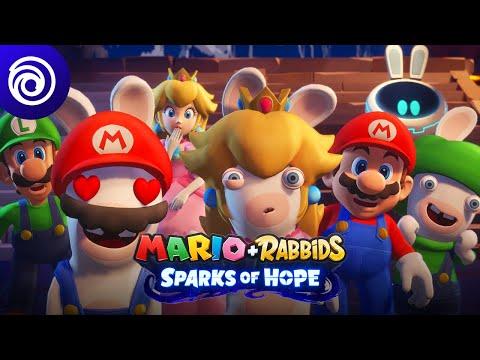 Mario + Rabbids Sparks of Hope: Gameplay Sneak Peek Trailer | #UbiForward