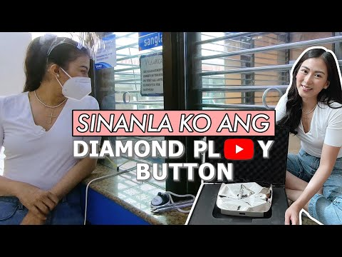 Unboxing and Pawning my Diamond Play Button by Alex Gonzaga