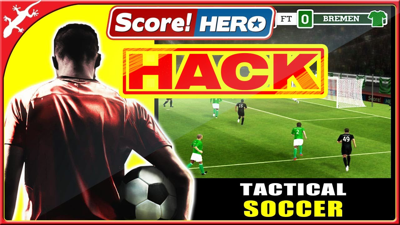 Score! hero the best offline Soccer game 2018