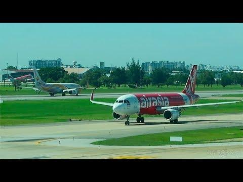 Air Asia Flight - Bangkok to Kuala Lumpur - October 2017
