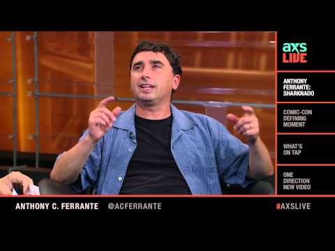 Anthony C. Ferrante  on AXS Live