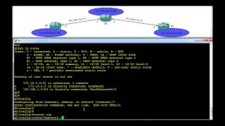 Routing Information Protocol - RIP Configuration example 3: Discontiguous Networks