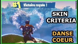 BIG TOP 1 WITH THE SKIN CRITRIA AND THE DANSE C-UR! FORTNITE DUO