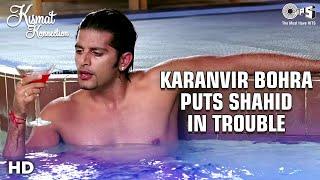 Karanvir Bohra Troubles Shahid Kapoor & Vishal Malhotra   Kismat Konnection Movie   Tips Films