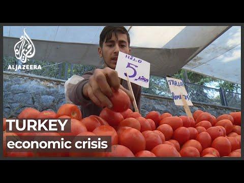 Turkey battles inflation crisis after currency value plummets