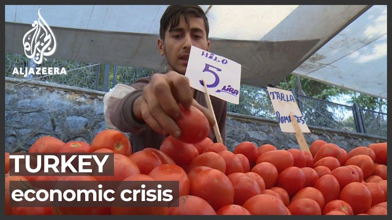 Download Turkey battles inflation crisis after currency value plummets