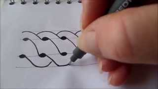 How to draw tanglepattern Intwine