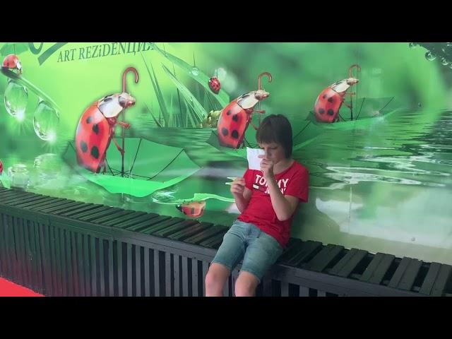 Куценко Богдан читает произведение «Осень» (Бунин Иван Алексеевич)