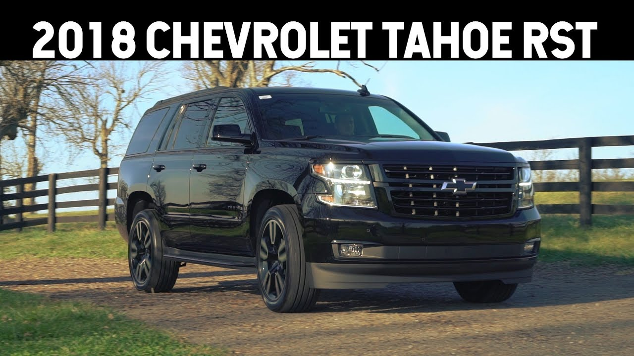 Cummins For Sale >> 2018 Chevrolet Tahoe RST Edition Overview @ Dan Cummins Chevrolet / Buick - YouTube