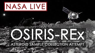 Watch NASA's OSIRIS-REx Spacecraft Attempt to Capture a Sample of Asteroid Bennu
