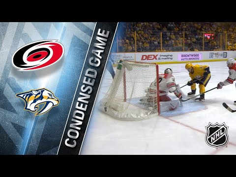 12/21/17 Condensed Game: Hurricanes @ Predators