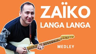 African Soukous Guitar - Zaiko Langa Langa - Performed by Don Keller (3-2-09)