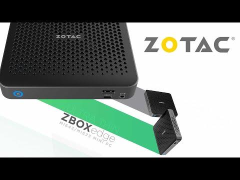 [Cowcot TV] Présentation Mini PC ZOTAC ZBOX EDGE MI643