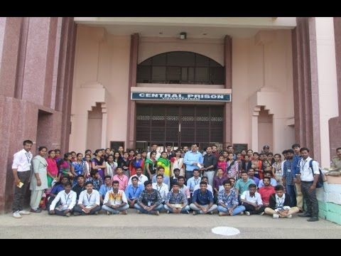 Study tour MSW students Department of Social Work at Vishakhapatnam