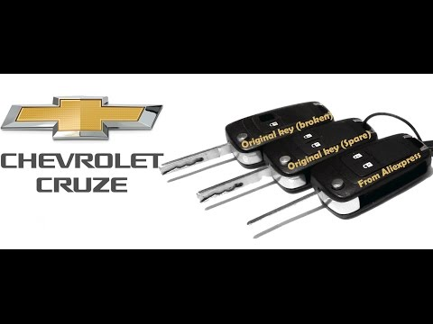 Chevrolet Cruze Remote Flip Key Shell Replacement