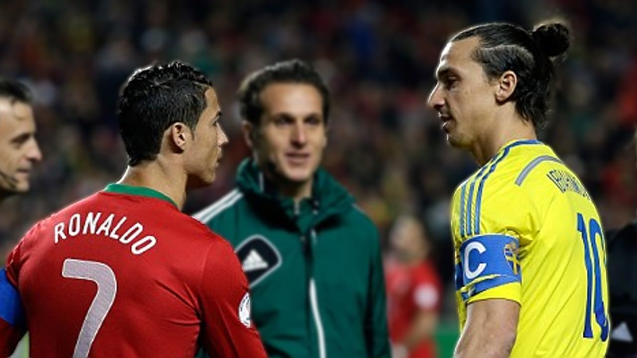 Image result for zlatan ronaldo