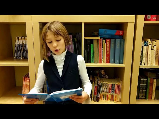 Изображение предпросмотра прочтения – АлсуАбидуллина читает произведение «В классе» М.И.Цветаевой