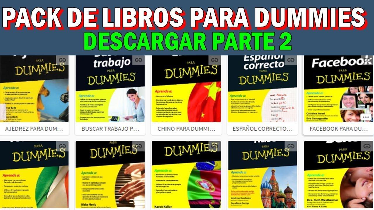 libros dummies gratis pdf