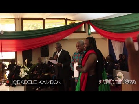 Dr Obadele Kambon Sworn-in as Ghanaian Citizen by President Mahama