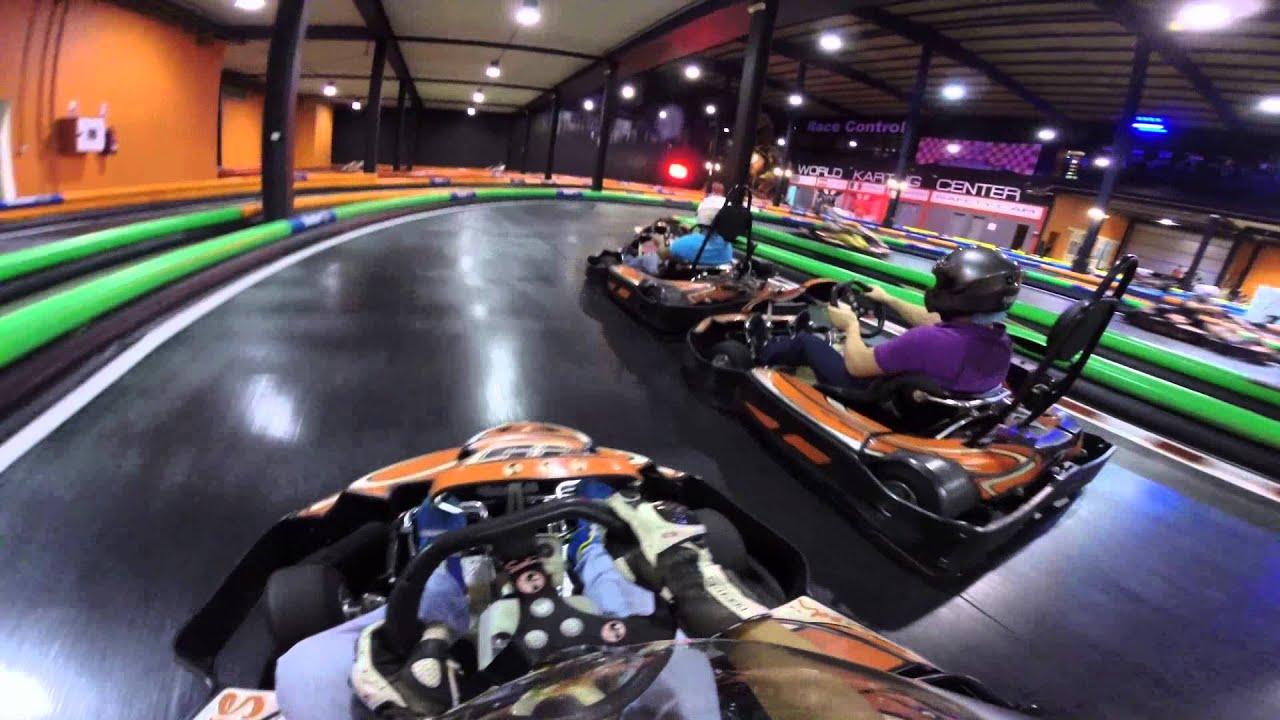 Karting jinamar hero3 los compis de los tarahales youtube for Gran canaria padel indoor