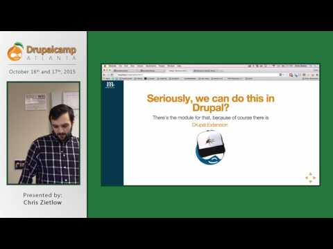 DCATL 2015 - A first look at behavior driven development with Behat in Drupal