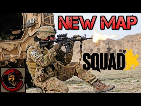 SQUAD Gameplay - NEW MAP IS AWESOME!!