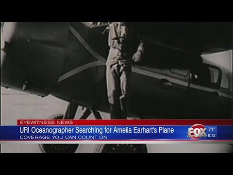 URI oceanographer seeking to find Amelia Earhart's plane