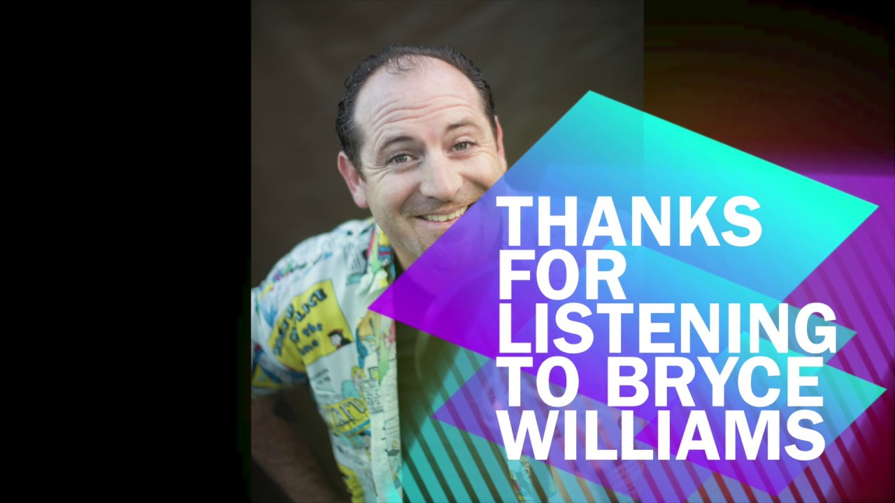 bryce williams commercial voice demo reel