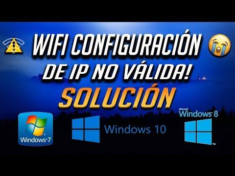 wi-fi-no-tiene-una-configuración-ip-válida-en-windows-10/8/7---[5-soluciones-2020]
