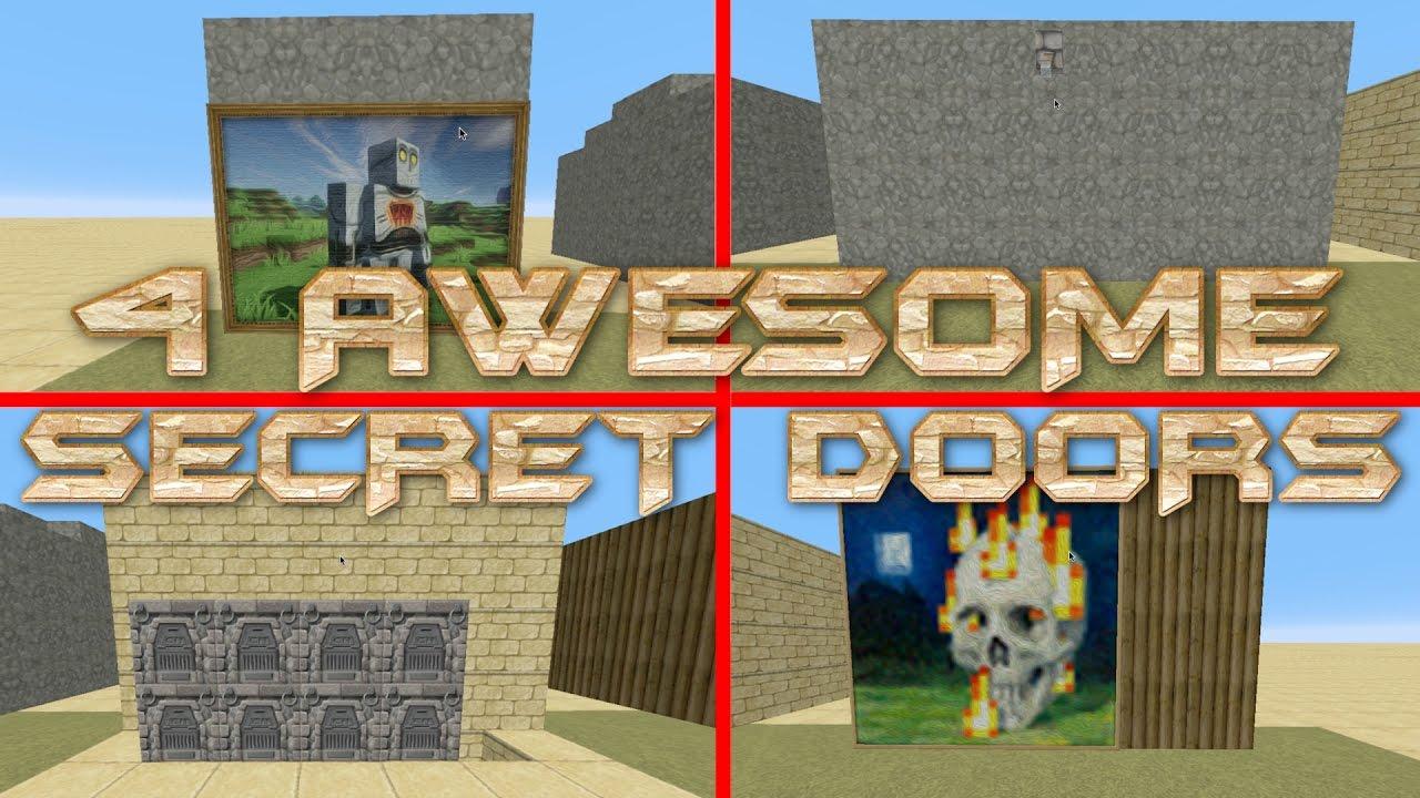 How to make a secret door in Maynkraft: tips