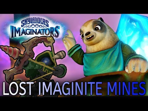 VERSCHOLLENE IMAGINITE MINEN - SKYLANDERS IMAGINATORS LOST IMAGINITE MINES LEVEL PACK DEUTSCH