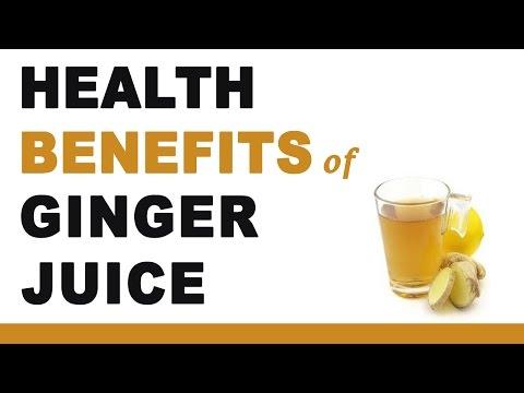 Ginger Juice Health Benefits