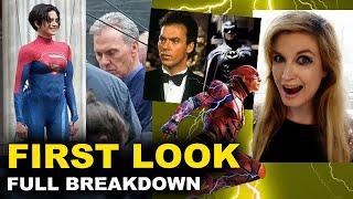 The Flash Set Photos BREAKDOWN - Sasha Calle's Supergirl, Michael Keaton, Flash Ring