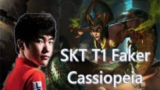 Faker - Cassiopeia Mid vs Twisted Fate  - Challenger LOL Korea