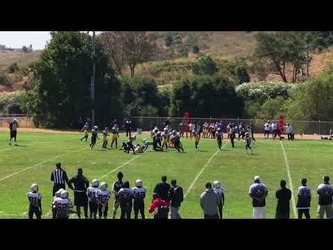 Vallejo Raiders vs Tri City Kings (Jr Midgets) football